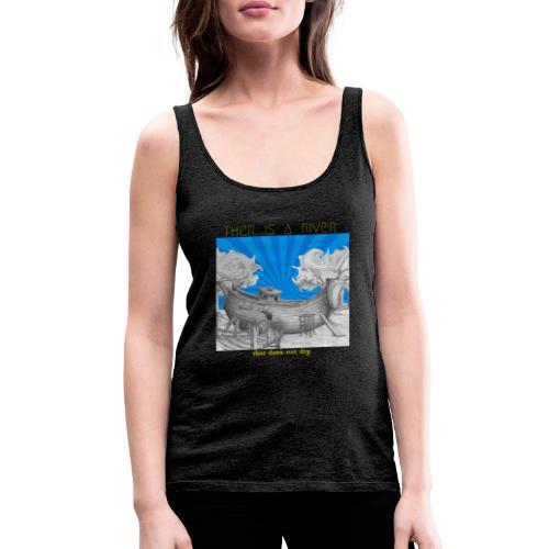 C15 - Camiseta de tirantes premium mujer