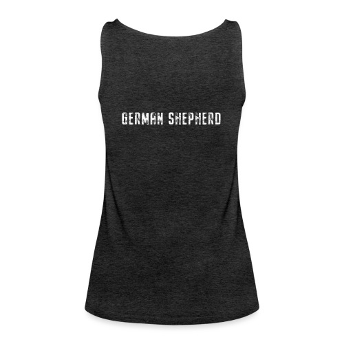 German Shepherd Vertical - Frauen Premium Tank Top