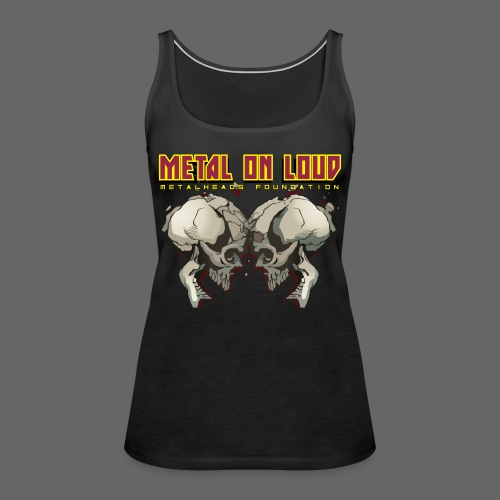 new mhf logo - Women's Premium Tank Top