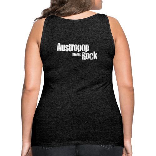 Austropop meets Rock classic back - Frauen Premium Tank Top