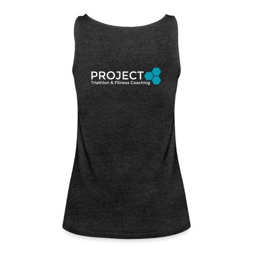 PROJECT whitetxt - Women's Premium Tank Top