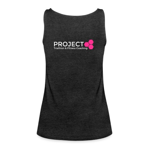 PROJECT pink txt - Women's Premium Tank Top