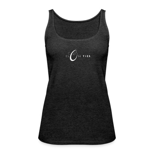 Close Ties_logo_weiß - Women's Premium Tank Top