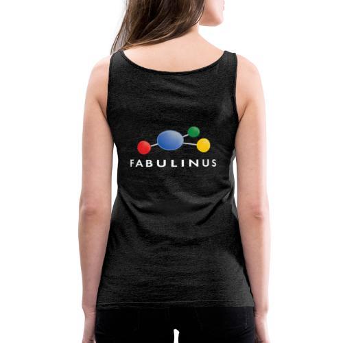Fabulinus logo enkelzijdig - Vrouwen Premium tank top
