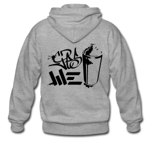Yes We (spray)Can Graffiti handstyle tag - Männer Premium Kapuzenjacke