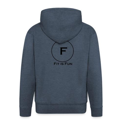 FitisFun - Männer Premium Kapuzenjacke