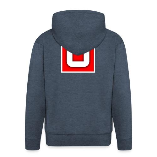 Vanlig Logo (tonåring) - Premium-Luvjacka herr