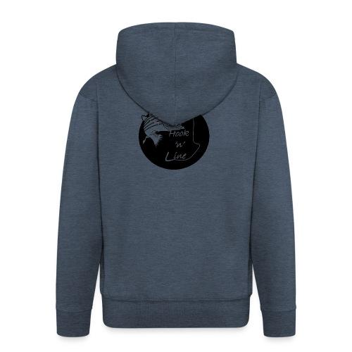 Hooknline original logo - Men's Premium Hooded Jacket
