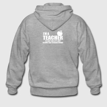 teacher - Männer Premium Kapuzenjacke