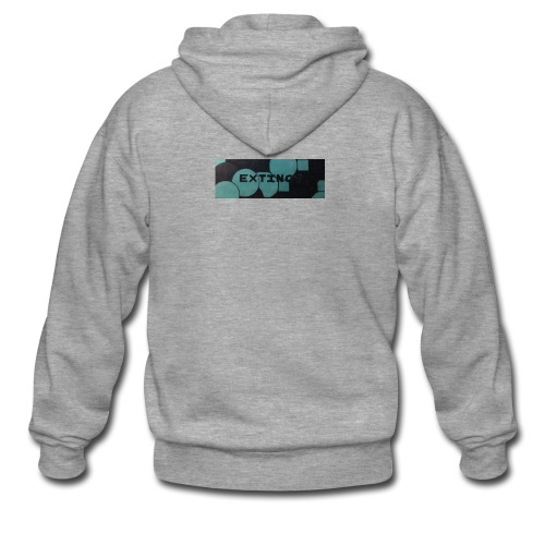 Extinct box logo - Men's Premium Hooded Jacket