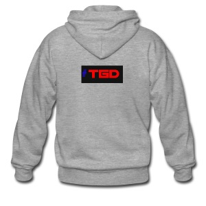 TGD LOGO - Men's Premium Hooded Jacket