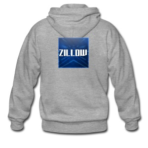 Zillow Logo - Men's Premium Hooded Jacket