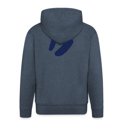 Logo D Blue DomesSport - Männer Premium Kapuzenjacke