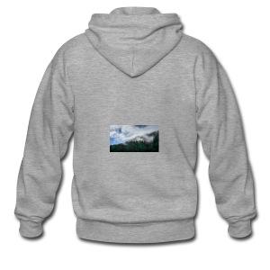 Mountainside - Männer Premium Kapuzenjacke