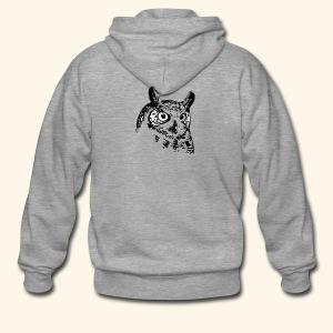Owl - Männer Premium Kapuzenjacke