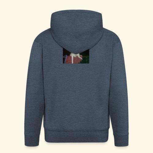 SPECIAL EDITION Demon Cat DESIGN - Men's Premium Hooded Jacket