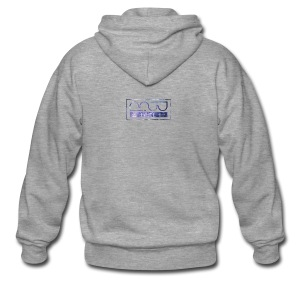 Mug logo purple - Men's Premium Hooded Jacket