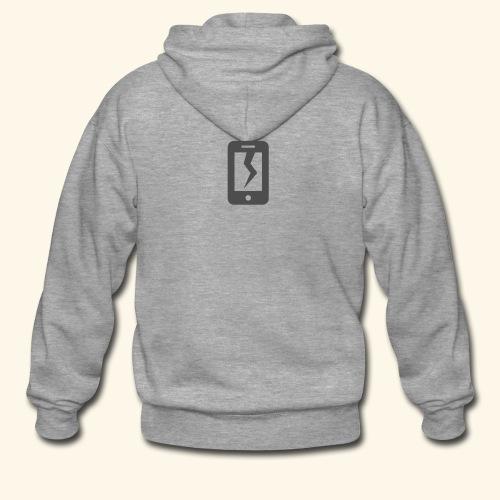 Tech Destruction - Men's Premium Hooded Jacket