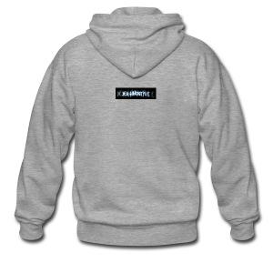 DerHardstyle.ch Kleines Logo - Männer Premium Kapuzenjacke