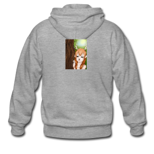 Sam sung s6:Deer-girl design by Tina Ditte - Men's Premium Hooded Jacket