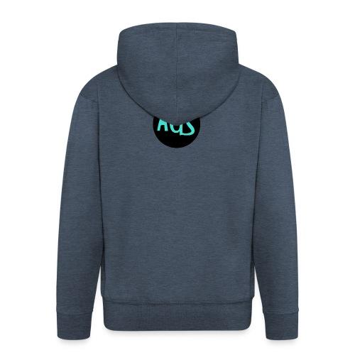 Logo AleGSimón - Chaqueta con capucha premium hombre