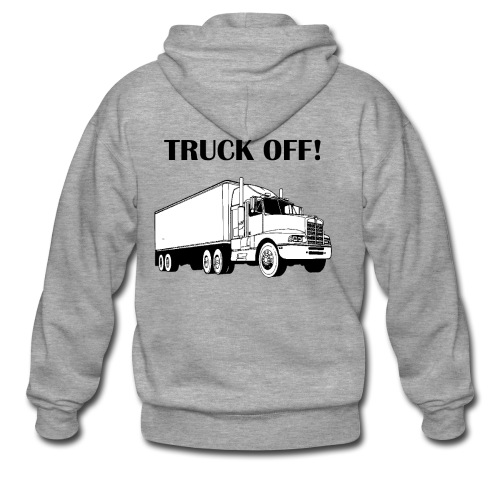 Truck off! - Men's Premium Hooded Jacket