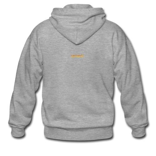 07-oulun-steiner-koulu-logo-merkki - Miesten premium vetoketjullinen huppari