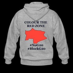 Colour the red Zone - Männer Premium Kapuzenjacke