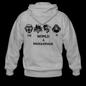 The World is a Masqeurade - Männer Premium Kapuzenjacke