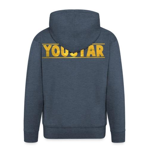 Golden Youstar Merch - Men's Premium Hooded Jacket