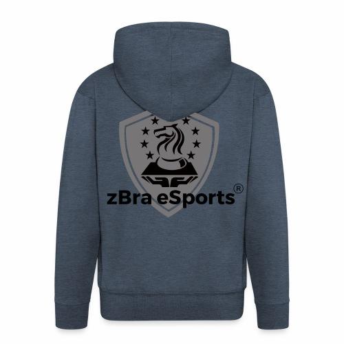 zBra eSports - Männer Premium Kapuzenjacke