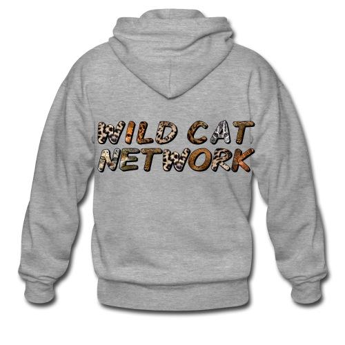 WildCatNetwork 1 - Männer Premium Kapuzenjacke