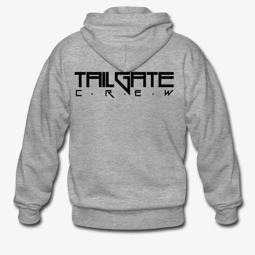 Tailgate svart - Premium Hettejakke for menn
