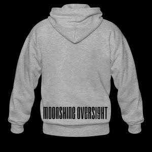 Moonshine Oversight logo - Veste à capuche Premium Homme
