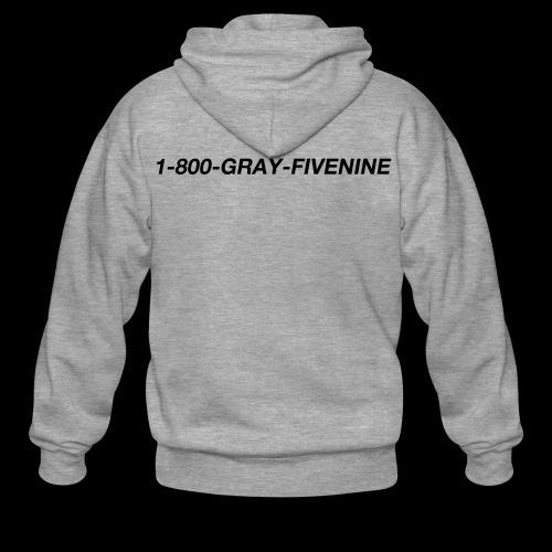 1-800-GRAY-FIVENINE - Premium-Luvjacka herr