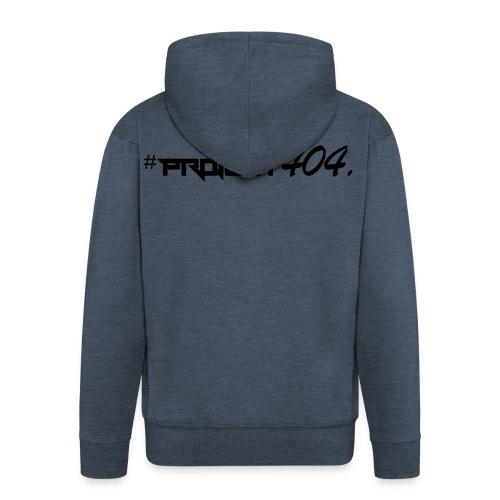 project404 final black - Men's Premium Hooded Jacket