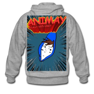 Animay: Toatally100% Legit - merch - Men's Premium Hooded Jacket