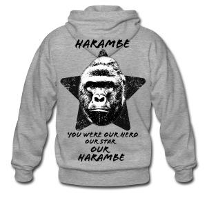 Harambe - Herre premium hættejakke