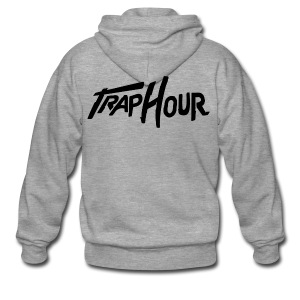 Trap Hour Shirt - Men's Premium Hooded Jacket