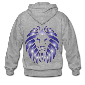 Lion Hunter - Men's Premium Hooded Jacket