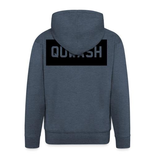 QUWASH - Mannenjack Premium met capuchon