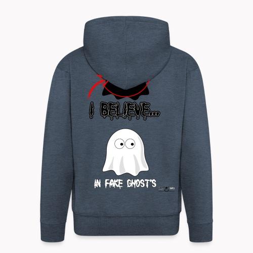Lokey Reviews Official Spooky Ass Sunday Design - Men's Premium Hooded Jacket