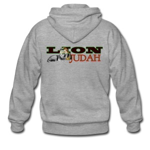 Tribal Judah Gears - Men's Premium Hooded Jacket
