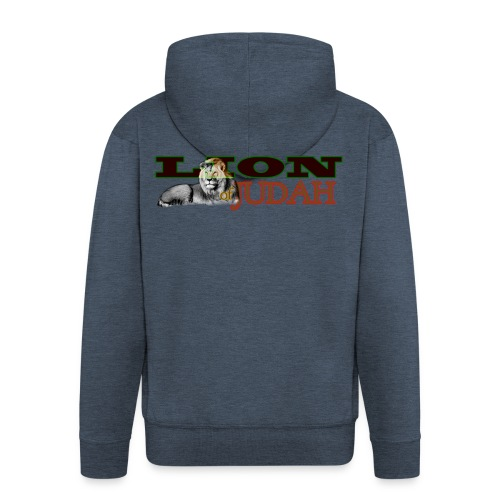 Tribal Judah Gears - Men's Premium Hooded Jacket