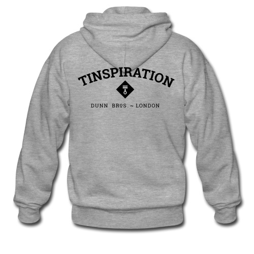 Tinspiration Logo - Men's Premium Hooded Jacket