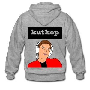 cartoon shirt/KutKopYT - Mannenjack Premium met capuchon