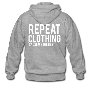 Repeat Clothing - Men's Premium Hooded Jacket