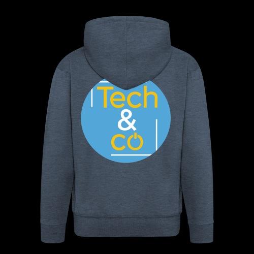 TechAndCo - Veste à capuche Premium Homme
