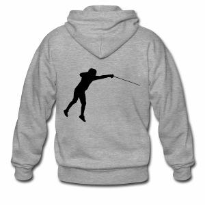 Jumping Fencer - Männer Premium Kapuzenjacke