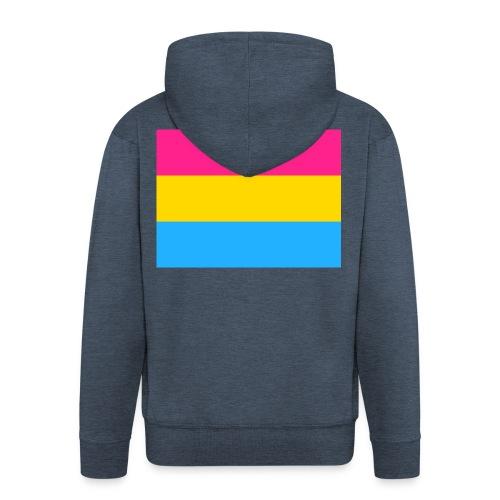 Pansexual pride - Männer Premium Kapuzenjacke